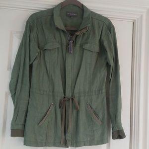 Anthropologie Michael Stars linen jacket Small